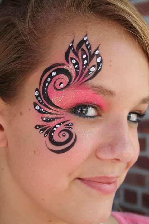 Sexy Cat Face Paint http://saucyandsparkly.com/